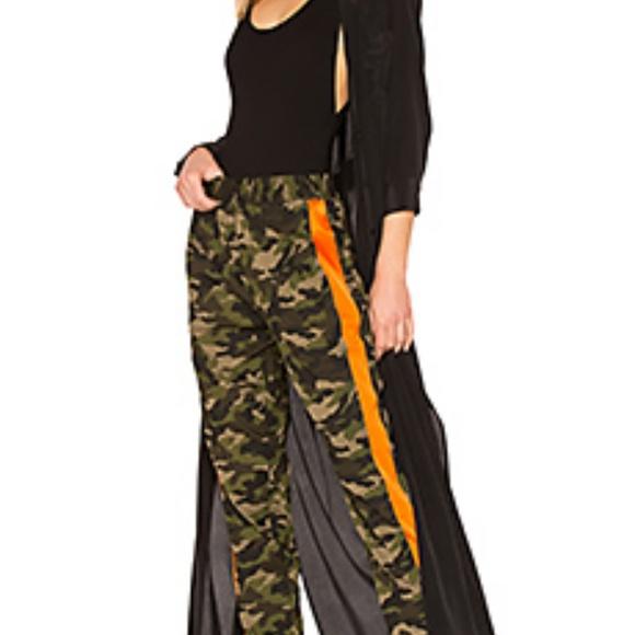 American Bazi Denim - American Bazi camo red stripe pant skinny s